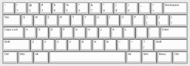 Image result for 60% keyboard layout